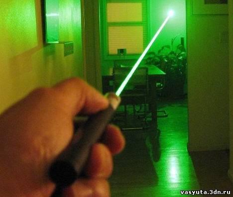 Как сделать лазер дома